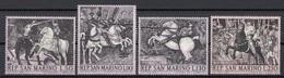 "San Marino 1968 Bf. 774/777 ""Battaglia S. Romano"" Quadro Dipinto P. Uccello Full Set MNH Paintings Tableaux - Künste"
