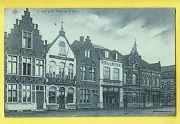 * Deinze - Deynze (Oost Vlaanderen) * (SBP, Nr 5) Place De La Gare, Hotel Du Sport, Café Des Nations, L'avenir, TOP - Deinze