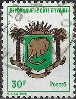 IVORY COAST 1969 Coats Of Arms - 30f. Ivory Coast Republic  FU - Côte D'Ivoire (1960-...)