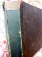 Très Nombreux Découpis De Journaux Originaux 19ème Siècle Dans Très Ancien Gros Classeur Rigide Usagé,  à Voir - Old Paper