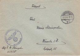 German Feldpost WW2: From  Kobierzyn Close To Crakow In Poland - A POW Guard In Stalag 369 FP 45738 - Militaria