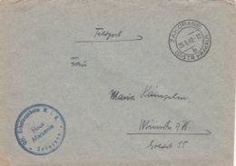 German Feldpost WW2: From A POW Guard Temp. Being At The Off. Erholungsheim M.I.G In Zakopane, Poland - Militaria