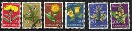 YOUGOSLAVIE JUGOSLAVIA 1965, Yvert 1013/18, FLORE MEDICINALE, 6 Valeurs, Oblitérés / Used. R034 - Heilpflanzen