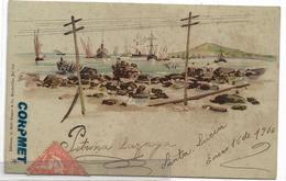 URUGUAY - 1906 SANTA LUCIA - Circulated Postcard - Ed. C. Galli Franco & Co. - Uruguay