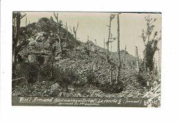 Cpa Carte Photo VIEIL ARMAND Hartmannsweilerkopf Monument Du 8e Chasseur  V SB 42 - Oorlog 1914-18