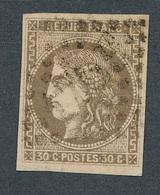 CI-18: FRANCE: Lot Avec N°47 - 1870 Bordeaux Printing