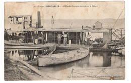 "Congo Brazaville Le CHARLES GRATRY En Service Au Congo  Carte ""molle"" - Congo - Brazzaville"
