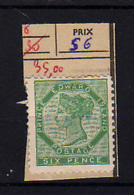 1864-69   Prince Edouard, Reine Victoria,8 Sg  No Gum, Cote 110 €, - Prince Edouard (Ile)