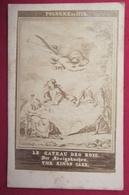 Ancienne Photo Cdv Vers 1860 - POLOGNE EN 1772 - Le Gateau Des Rois - The Kings Cake (Partage De La Pologne) - Anciennes (Av. 1900)