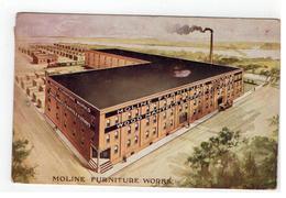 MOLINE FURNITURE WORKS   1912 - Etats-Unis
