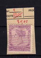 1864-69   Prince Edouard Island, Queen Victoria,9 Sg, Cote 100 €,  Without Gom - Prince Edouard (Ile)