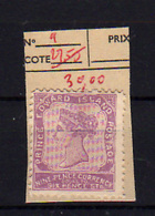 1864-69   Prince Edouard Island, Queen Victoria,9 Sg, Cote 100 €,  Without Gom - Prince Edward (Island)