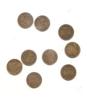 9 Pieces De 50 Centimes Chambre De Commerce Detail En Dessous - France