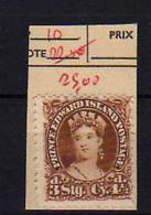 1864-69   Prince Edouard Island, Queen Victoria,10 Ssans Colle,  No Glue, Cote 80 €, - Prince Edouard (Ile)