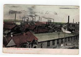 KEWANEE ILL  WESTERN TUBE WORKS  1908 - Etats-Unis
