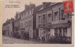CALVADOS-Pont-l'Evêque-La Rue Saint-Mélaine - Ed Levallois - Pont-l'Evèque