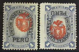 Perú 56+56hi (*) - Perú