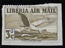 Libéria Poste Aérienne N°45 - Oiseaux - Oblitéré - TB - Liberia