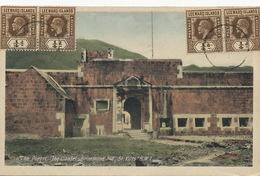 St Kitts  W.I. Brimstone Hill . The Portal The Citadel  Photo V.E. John  Used 4 Stamps Leeward  To Gonjna Radgona Sloven - Saint-Christophe-et-Niévès