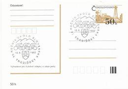 I0506 - Tschechoslowakei (1991) Trebisov 1: 36. Jahr Durch Die Slowakei (Radfahren) - Briefe U. Dokumente
