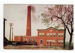 MOLINE  CITY WATER WORKS  1910 - Etats-Unis