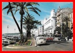 CPSM/gf  (06) NICE. La Promenade Des Anglais. Traction Citroën,203 Peugeot...I0177 - Nice