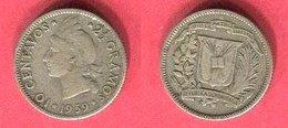 10 CENTAVOS I   ( KM 10)  TTB+ 3,5 - Dominicaine