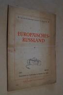 RARE Carte Russie,Russland 1941 Pour Obercommando Wehrmarcht,carte Pour Les Allemands,originale,80 Cm/55 Cm. - 1939-45