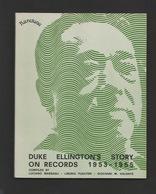 Libri - Musica E Storia - Duke Ellington's Story On Records 1953-1955 - Karetone - Livres, BD, Revues