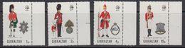 Gibraltar 1971 Uniforms 4v  (+margin) ** Mnh (41505B) - Gibraltar
