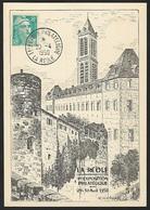 1950 - FRANCE - Card + Y&T 810 [Marianne/Gandon] + LA REOLE - France