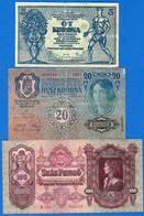 Hongrie  6  Billets - Hongrie