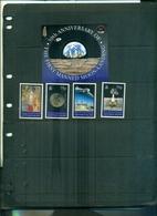ASCENSION 30 HOMME SUR LA LUNE  4 VAL + BF NEUFS A PARTIR DE 1.25 EUROS - Ascension (Ile De L')