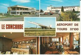 """Carte Postale """"Concorde"""" Aéroport De Tours - Tours"""