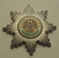 ND - Allemagne - Germany - Etoile De L'Ordre De L'Aigle Noir: SUUM CUIQUE - Allemagne