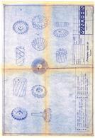 Outils Fraiseuse - Fraise - Manurhin Cusset Allier - Principaux Type De Fraises Vers 1966 Copie 1948 - Tools