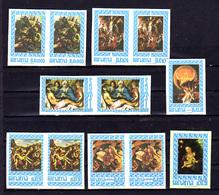 1966-67   Panama, Peintures De Albrecht, Vinci, Raffael, MI 873-875**966/71**, - Stamps