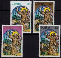Zm0325 ZAMBIA 1980. SG325-8 50th Anniv Catholic Church On Copperbelt,  MNH - Zambia (1965-...)