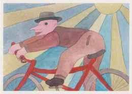 ERGON - Radfahrer - Fahrrad - Illustrator - Ergon