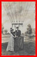 CPA Carte Photo. Départ De Mongolfière. Charles Scolik Photographe Autrichien 1854-1928...I0186 - Photographs