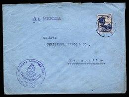 A5766) Curacao Netherlands Ship Letter 28.05.25  To Maracaibo / Venezuela - Curaçao, Antilles Neérlandaises, Aruba
