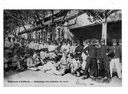 Règiment D'Artillerie - Epluchage Des Pommes De Terre - Regiments