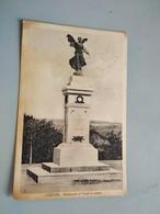 CARTOLINA CALITRI - MONUMENTO AI CADUTI IN GUERRA - Avellino