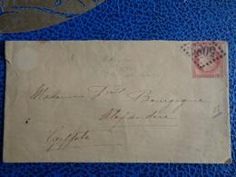 LETTRE AVEC TIMBRES N° 57 CERES - 1871-1875 Ceres