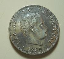 Portugal 500 Reis 1899 Silver - Portugal