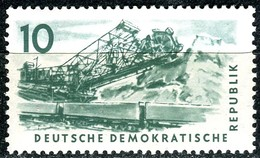 A12-49-5) DDR - Mi 569 - ** Postfrisch (A) - 10Pf          Kohlebergbau - [6] République Démocratique
