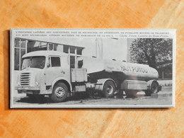 LAITERIE DU HAUT POITOU CITERNE ROUTIERE CAMION DE COLLECTE (K6) - Old Paper