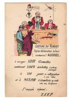 Justice: Lecture Du Verdict  Signé L. Dupont - Humour