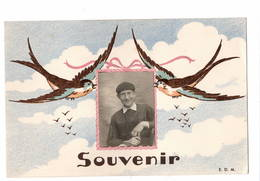 OIseaux  Photo Enfant  Souvenir  Ttttb état - Sonstige