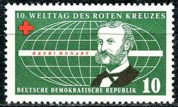 A12-49-6) DDR - Mi 572 - ** Postfrisch (A) - 10Pf    Welttag Des Roten Kreuzes - [6] République Démocratique
